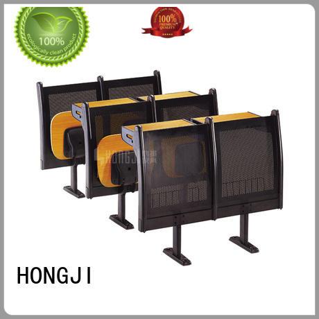 ISO9001 certified wooden school desk for university