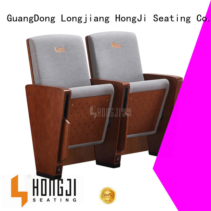 HONGJI newly style commercial theater seating manufacturers manufacturer for cinema