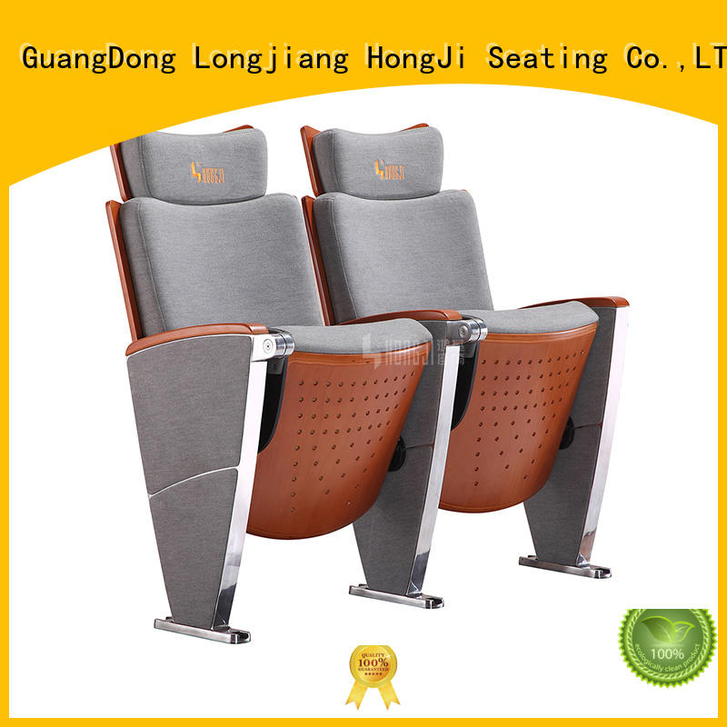 HONGJI newly style auditorium theater seating manufacturer for student