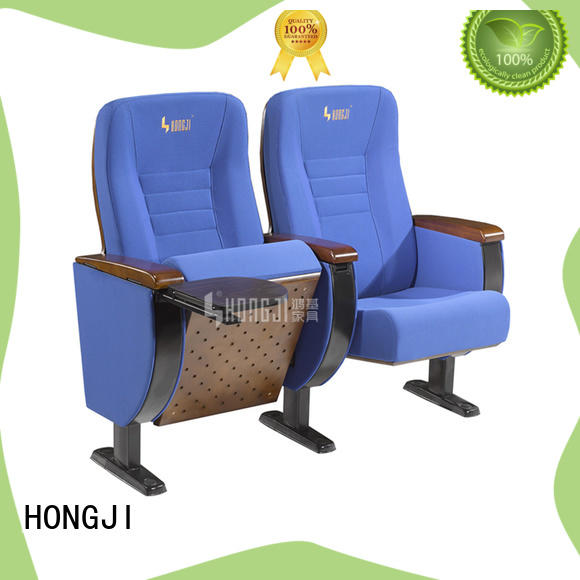 HONGJI elegant 4 chair theater seating supplier for cinema