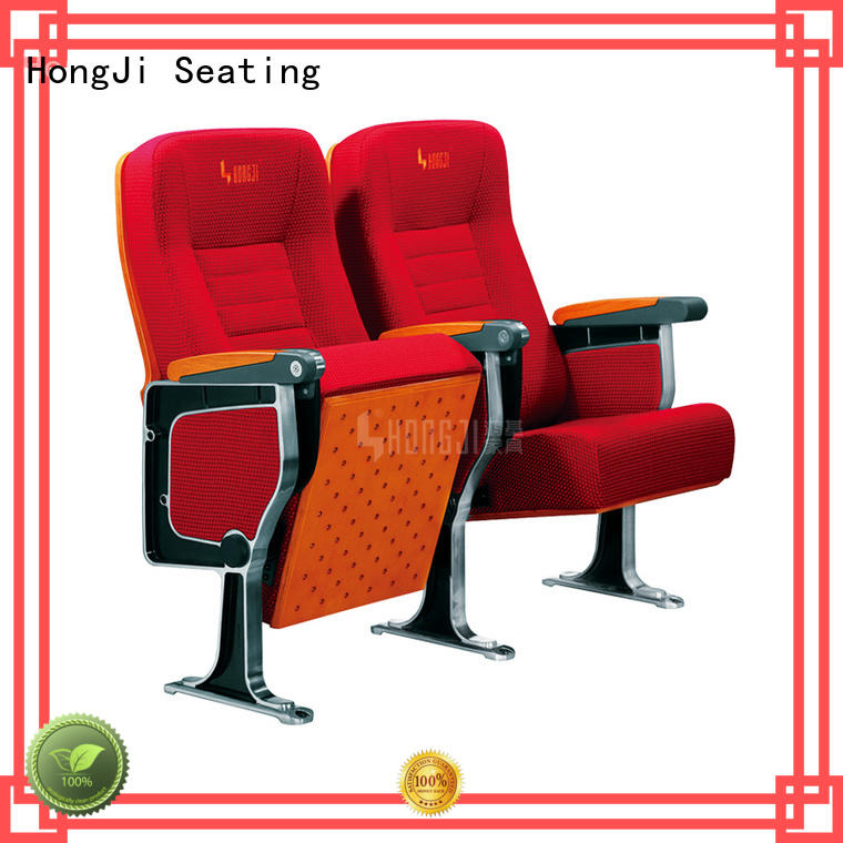 HONGJI outstanding durability commercial theater seating manufacturers factory for university classroom