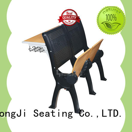 HONGJI ISO9001 certified student desk chair combo factory for university