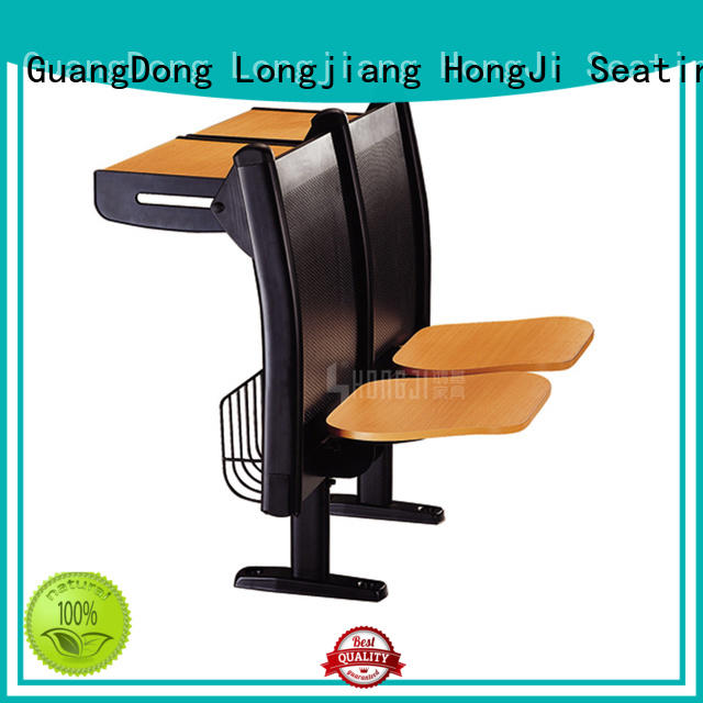 HONGJI ISO14001 certified school table and chair set for university