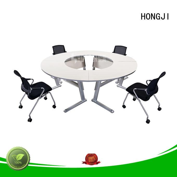 HONGJI movable white office desk exporter for classroom