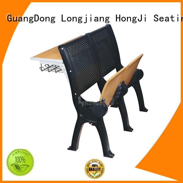 HONGJI ISO14001 certified school desk dimensions for school