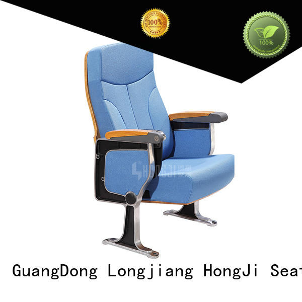 HONGJI excellent red theater seating manufacturer for cinema