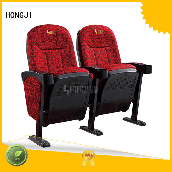 HONGJI hj815b home theater seating 4 seater competitive price for cinema