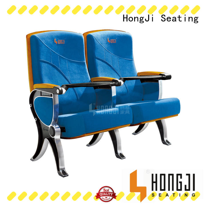 HONGJI outstanding durability best church chairs manufacturer for university classroom