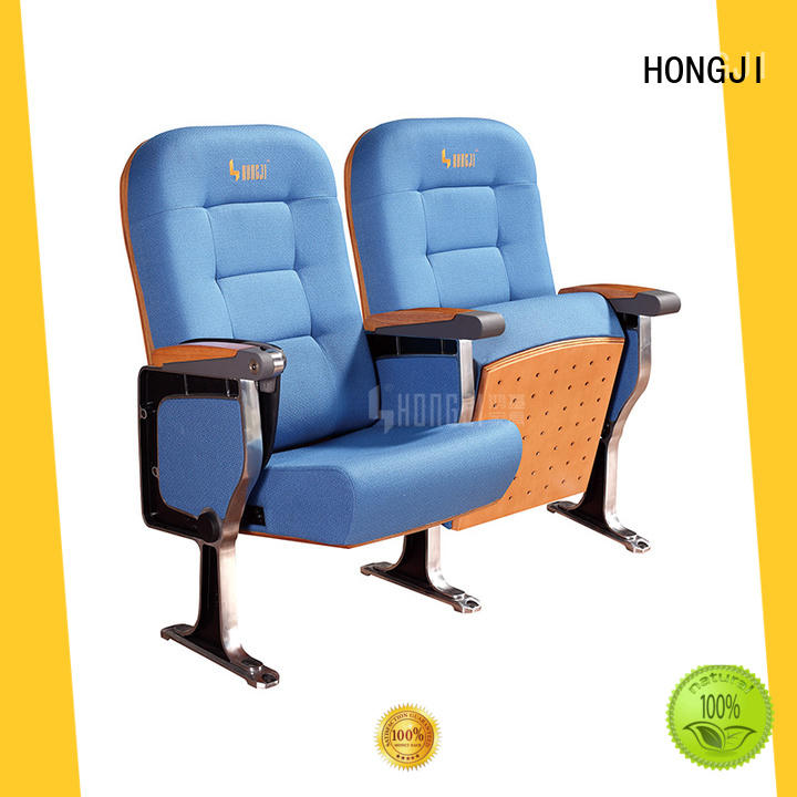HONGJI newly style lecture hall seating design supplier for cinema