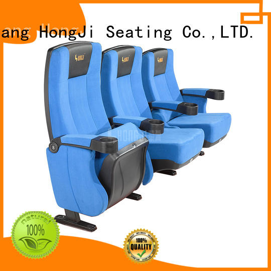 HONGJI elegant movie chairs for home competitive price for theater