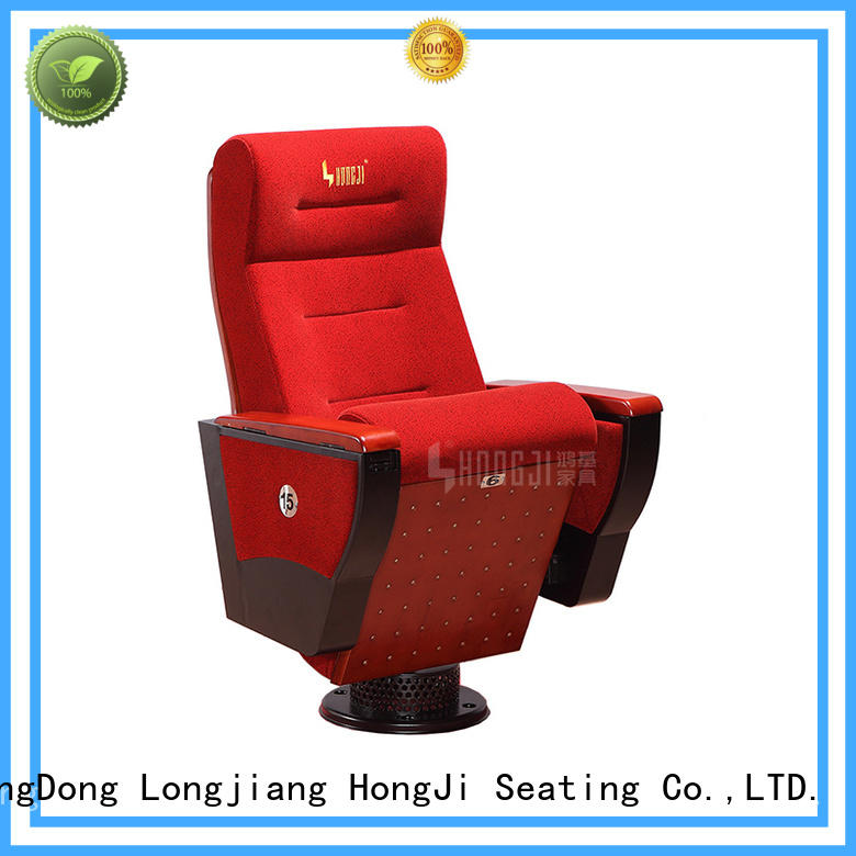 HONGJI outstanding durability lecture hall seating manufacturer for sale