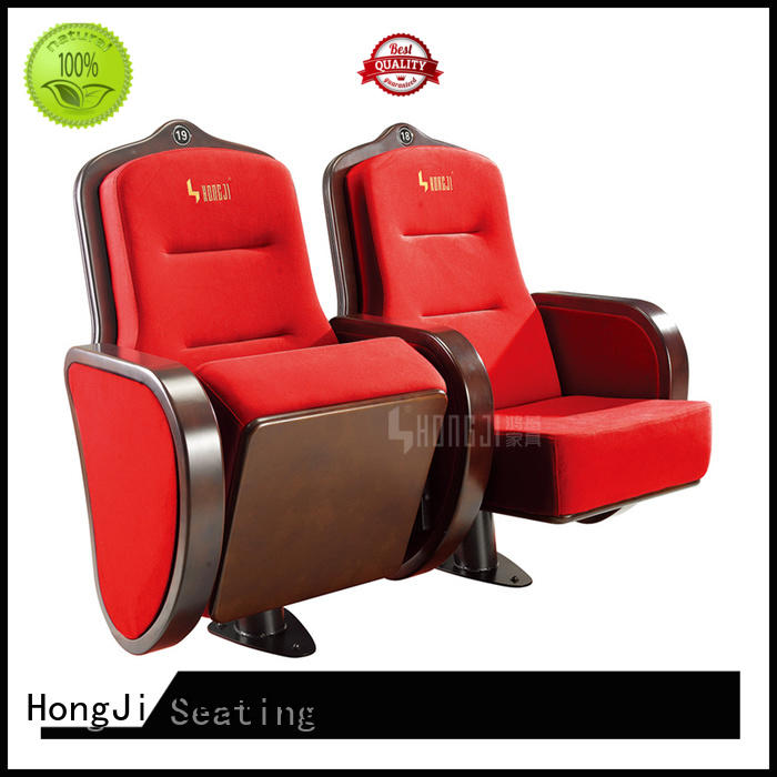 HONGJI newly style auditorium chair supplier for student