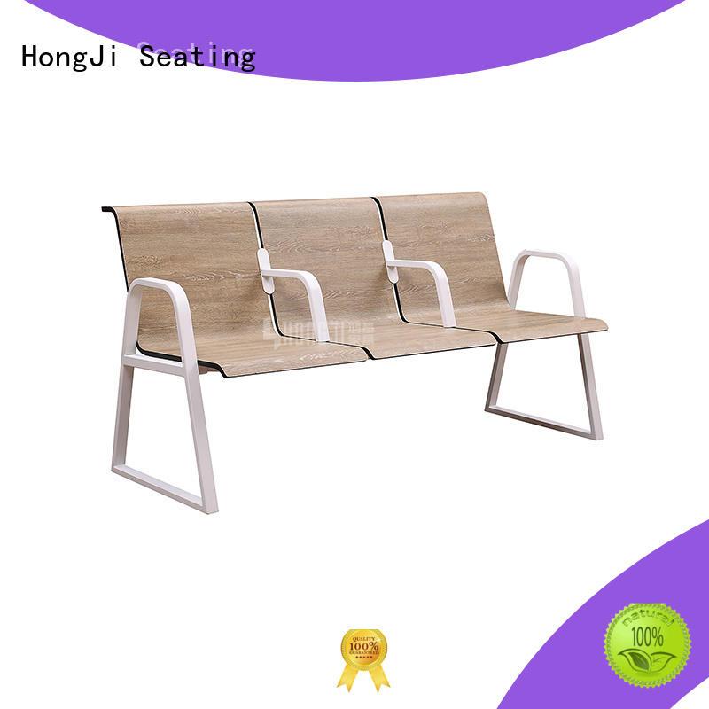 HONGJI European style waiting room bench seating for travel terminal