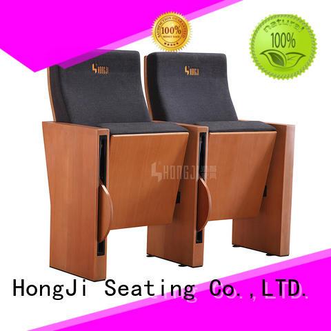 Custom series auditorium chairs hj84 HONGJI