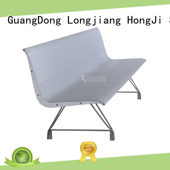 HONGJI h63d3 hospital waiting chair fine workmanship for airport