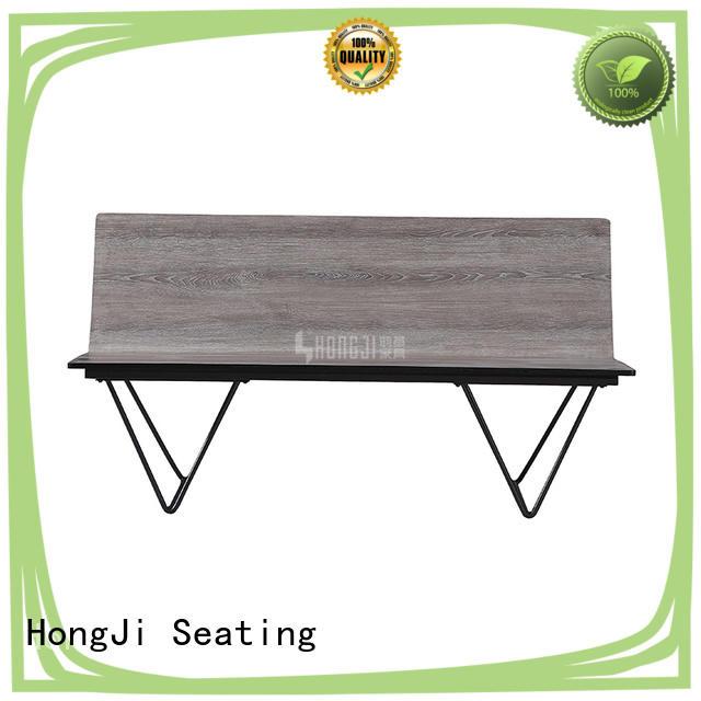 HONGJI h63d3 waiting bench design for hosiptal