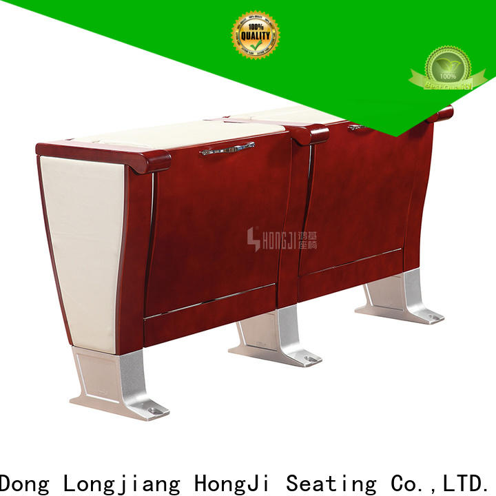 HONGJI newly style fabric theater seating manufacturer for cinema