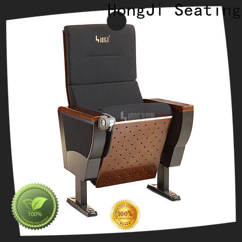 HONGJI outstanding durability stadium theater seating furniture supplier for student