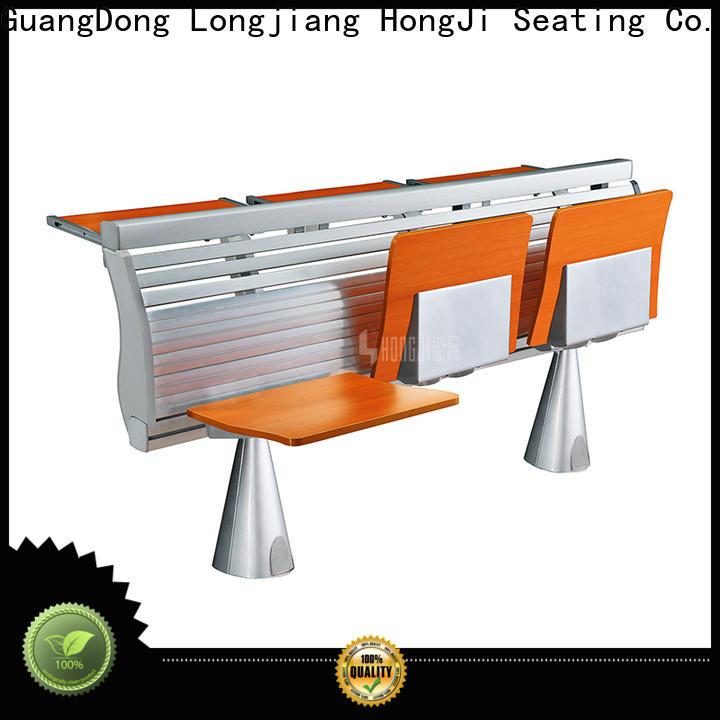 HONGJI wooden school table chair supplier fpr classroom