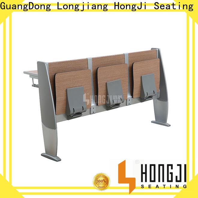 HONGJI ISO9001 certified classroom desk factory for university