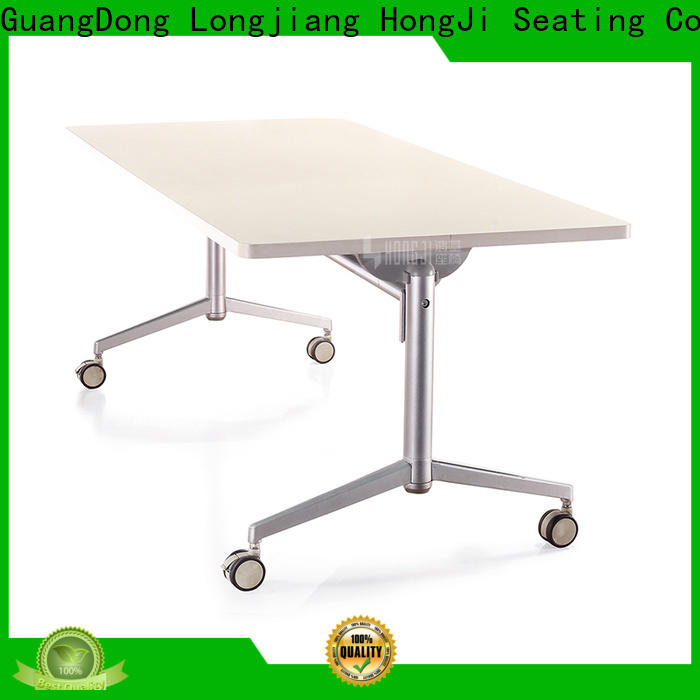 HONGJI movable black office desk from China for student