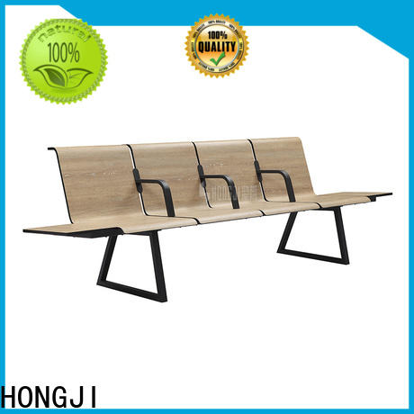 European style hospital waiting chair h63d3 fine workmanship for travel terminal