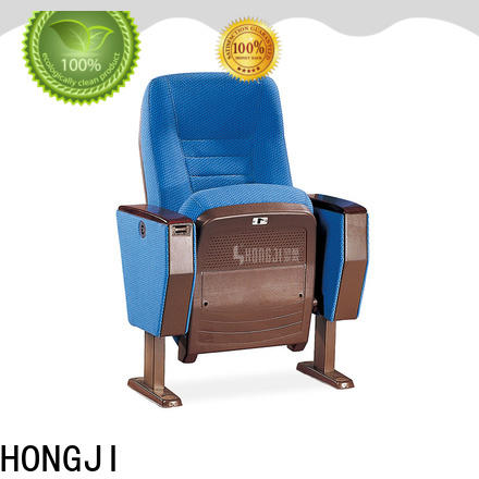 HONGJI high-end stadium theater seating furniture factory for university classroom