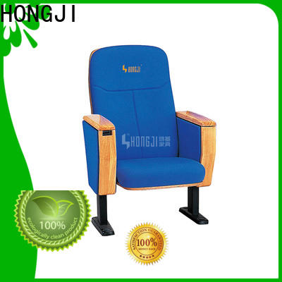 HONGJI outstanding durability 4 chair theater seating manufacturer for office furniture