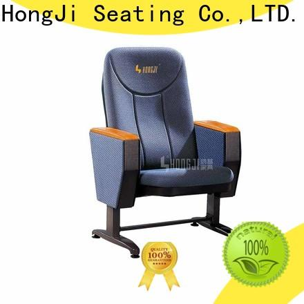 HONGJI excellent auditorium seating chairs manufacturer for university classroom