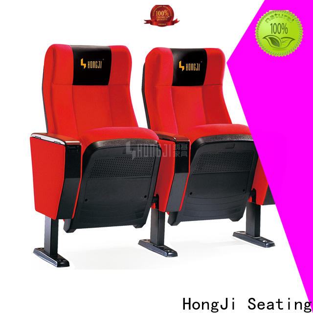 HONGJI excellent high end theater seating factory for student
