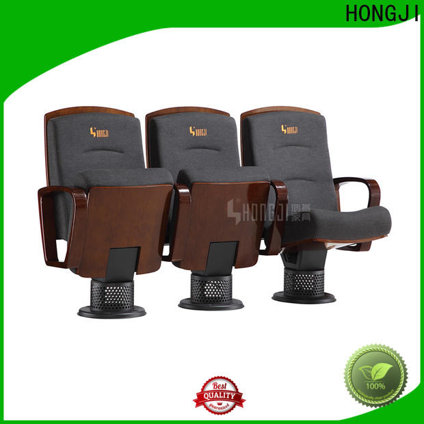 HONGJI newly style 5 seat theater seating supplier for student