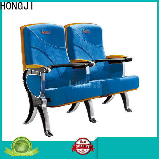 HONGJI two seat theater seating factory for cinema