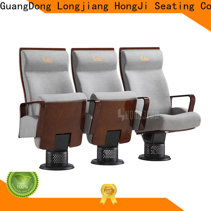 HONGJI unparalleled 2 seat theater chairs supplier for student