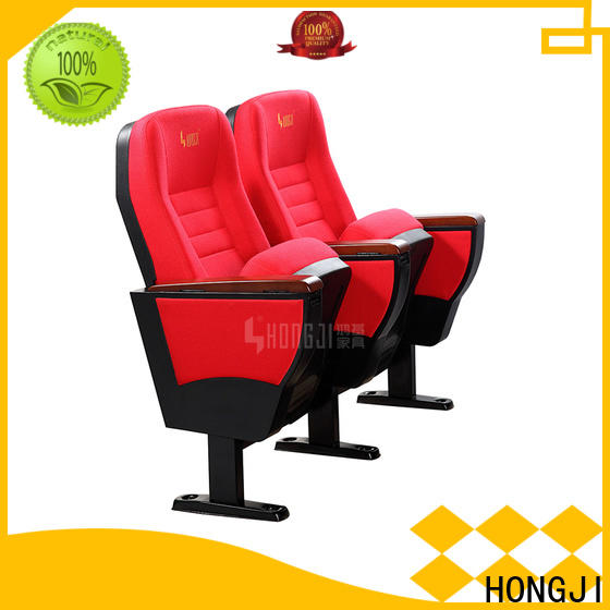 HONGJI elegant auditorium seating manufacturer for sale