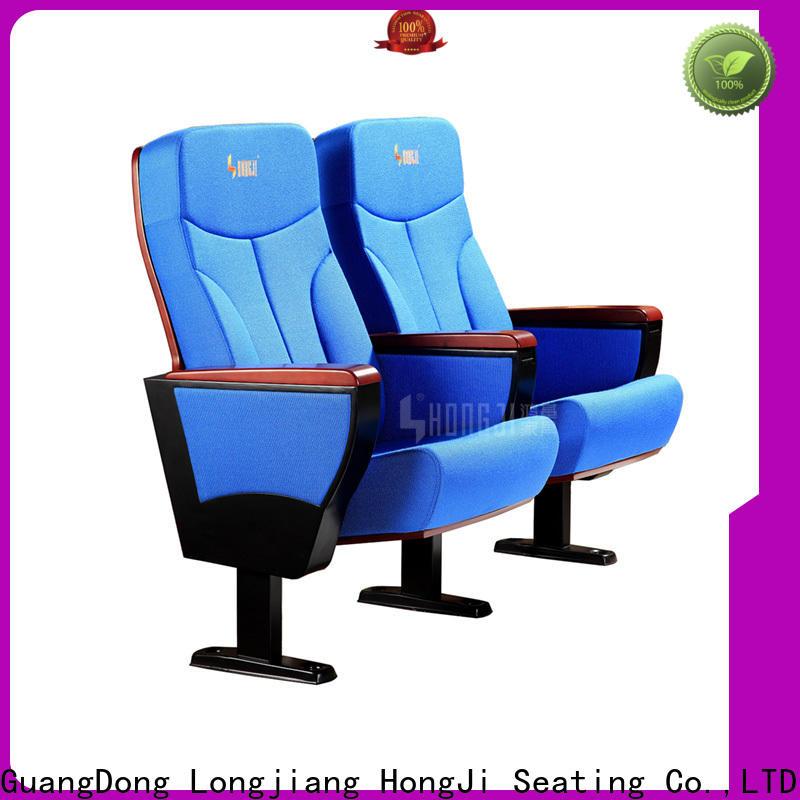 HONGJI high-end auditorium chair design factory for office furniture
