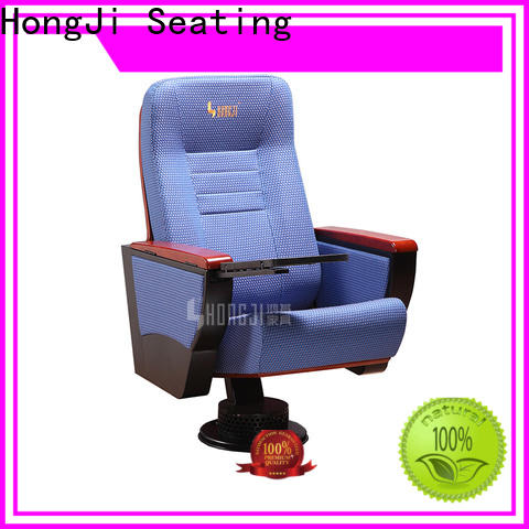 HONGJI high-end cinema hall chairs manufacturer for sale