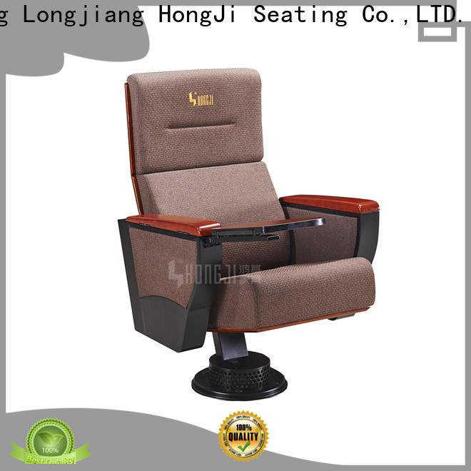 HONGJI black theater chairs manufacturer for university classroom