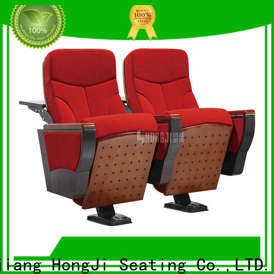 HONGJI outstanding durability 2 seat theater seating factory for office furniture