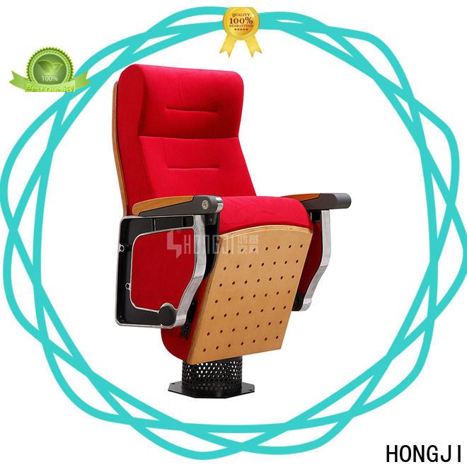 HONGJI church auditorium seating manufacturer for student