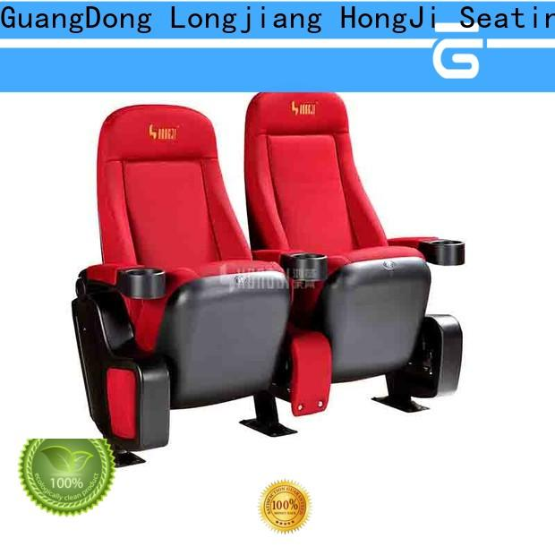 HONGJI exquisite home cinema chairs directly factory price for importer