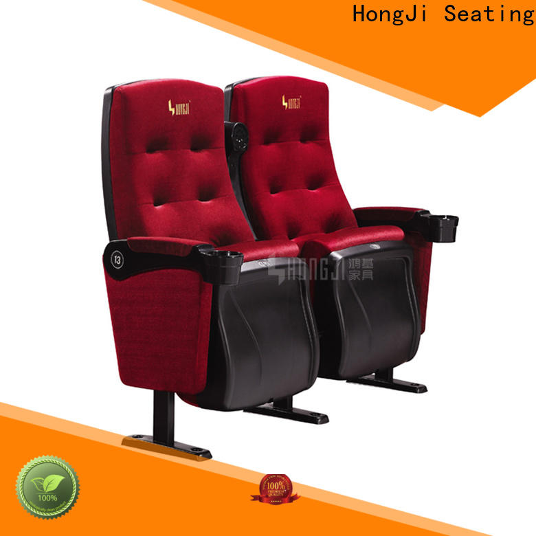 HONGJI fashionable home cinema seating factory for sale