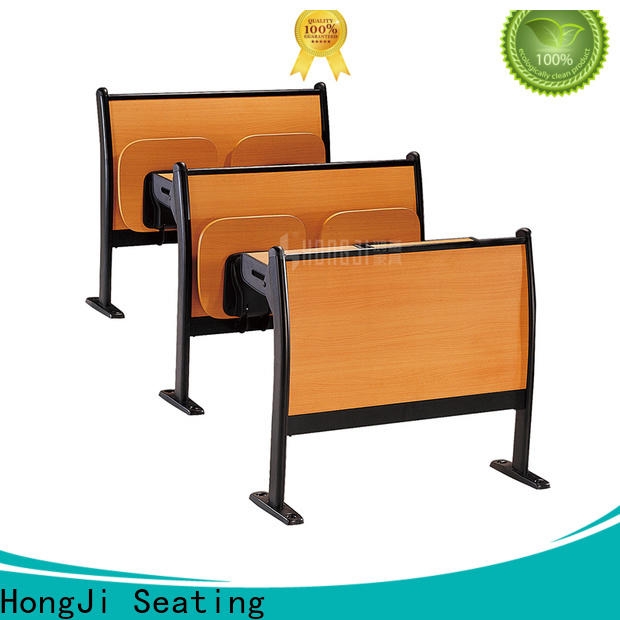 HONGJI ISO9001 certified student desk and chair for high school