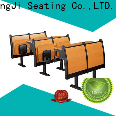 ISO14001 certified school desk and chair set wooden for university