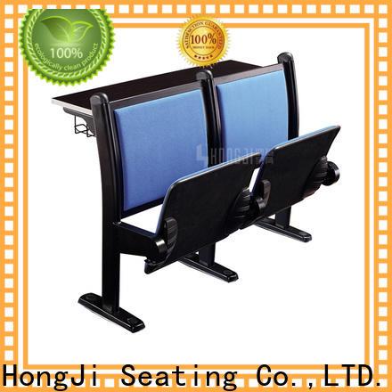 HONGJI tc903c student desk chairs factory for university