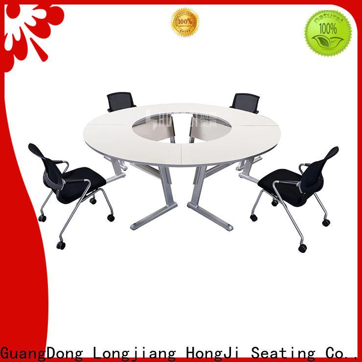 HONGJI foldable white office furniture trader for student