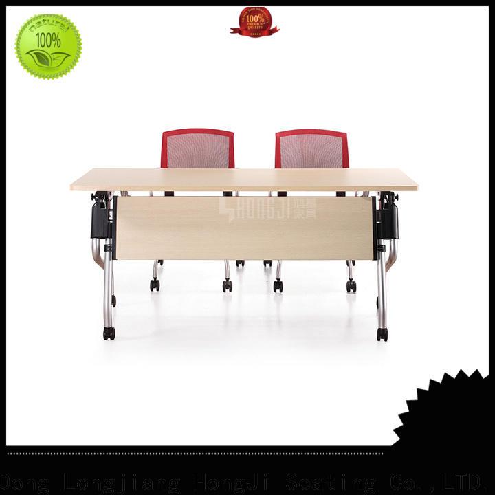 HONGJI alloy office desk chairs exporter for student