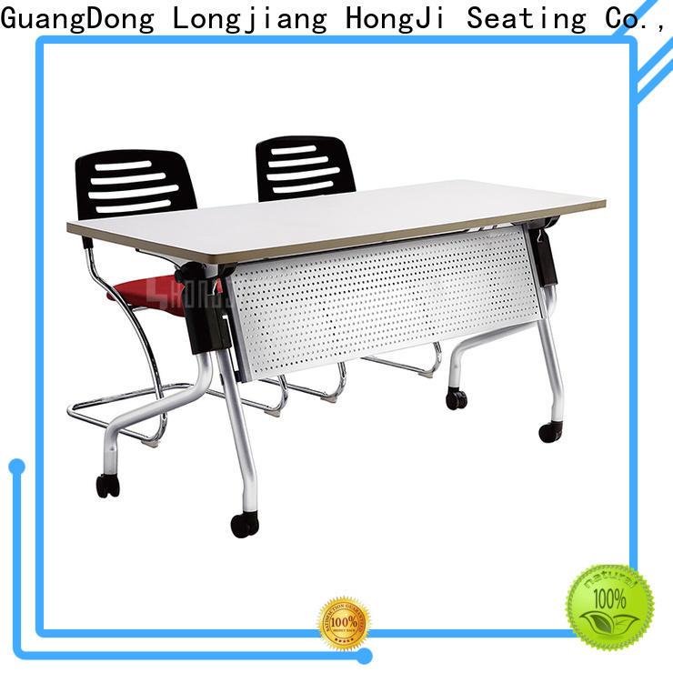 HONGJI foldable office desk factory for school