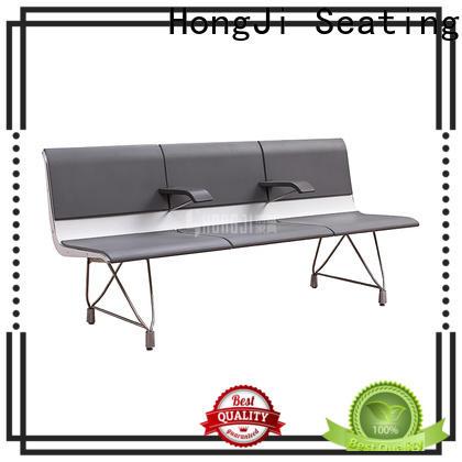 HONGJI h72c4ft reception chairs fine workmanship for hosiptal