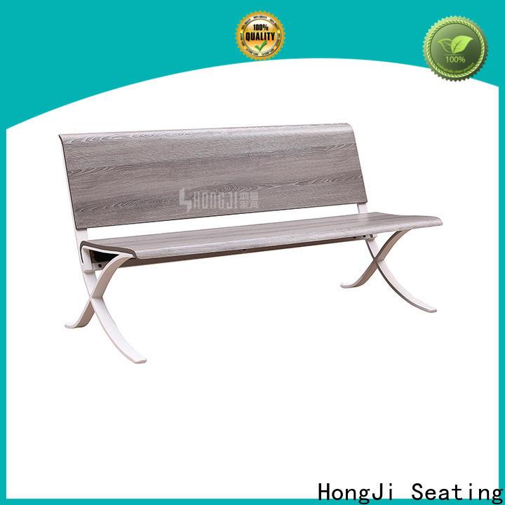 HONGJI h72c4ft waiting room bench fine workmanship for bank