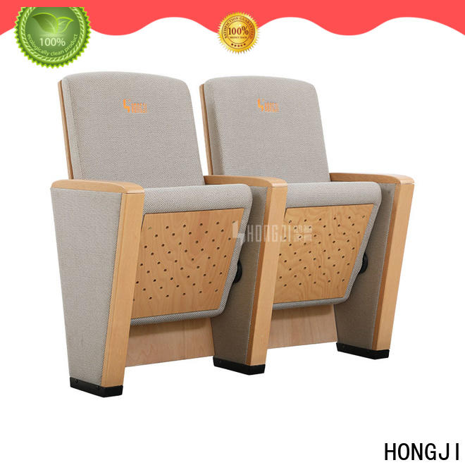 HONGJI excellent folding auditorium chairs supplier for student